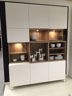 New to the Ikea! - Ikea DIY - The best IKEA hacks all in one place Küchen Design, Interior Design, Crockery Cabinet, Home Furniture, Furniture Design, Muebles Living, Ikea Living Room, Ikea Storage, Floating Shelves Diy