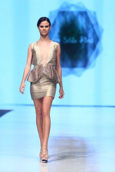 Vestido de Ana Cecilia Rivero.