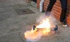 Casos de explosão e fogo em skate elétrico da moda se tornam frequentes