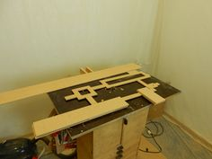 """1x Main template for frame. 5x Small Templates for """"Boxes"""". 5x Mirror templates for machining out the space for the mirrors to go into. +++ Lots of corners to had chisel into perfection...!!!"""