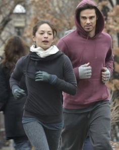 Kristin Kreuk and Jay Ryan ❤️ Beauty and the Beast CW
