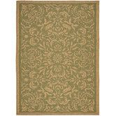 Found it at Wayfair - Courtyard Light Green/Tan Outdoor Rug