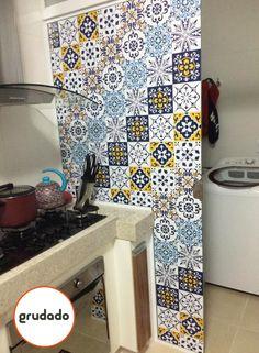 Adesivos de Azulejo Carraci | Grudado