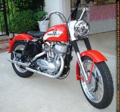 1956 Harley KHK 55 cubic inches Aluminium Flathead