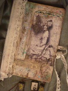 артблокнот..винтаж..кружева..текстура...краски... Handmade Journals, Handmade Books, Junk Journal, Journal Ideas, Journal Covers, Vintage World Maps, Mixed Media, Outdoor Blanket, Crafts