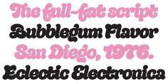 Quinella, font by Schizotype Fonts. Quinella can be purchased as a desktop and a web font. Great Fonts, New Fonts, Script Fonts, Lip Job, Font Face, Creative Resume Templates, Bubble Gum, Desktop, Type Design