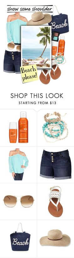 """""""Beach please!"""" by ela79 ❤ liked on Polyvore featuring Avène, Red Camel, Naked Zebra, Jennifer Lopez, Chloé, L.L.Bean, NARS Cosmetics and Post-It"""