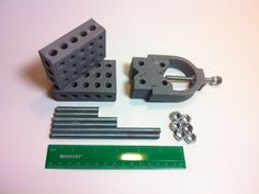 blocks (aka setup blocks) are a highly configurable drill press and milling fixture. They are most useful when you need a straight edge or a fix 3d Printing Diy, 3d Cnc, 3d Printer Projects, 3d Printing Technology, Drill Press, Impression 3d, Gadgets And Gizmos, 3d Design, Design Files