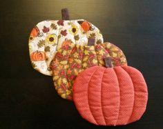 Pumpkin Mug Rug Coaster
