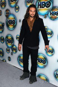 Jason Momoa | Jason Momoa, Lisa Bonet attending the Hbo Post Golden Globe Party ...