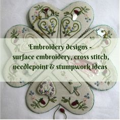 Embroidery designs - surface embroidery, cross stitch, needlepoint and stumpwork inspiration Needlepoint Kits, Gorgeous Eyes, Sewing Tools, Embroidery Designs, Needlework, Eye Candy, Surface, Cross Stitch, About Me Blog