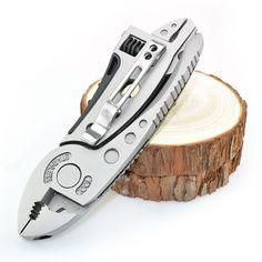 Multitool Pinze Outdoor Pocket Knife Set di Cacciaviti Kit Chiave Inglese Jaw Chiave di Riparazione Di Sopravvivenza A Mano Multi Tools Mini