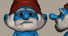 Making of The SmurfsComputer Graphics & Digital Art Community for Artist: Job, Tutorial, Art, Concept Art, Portfolio