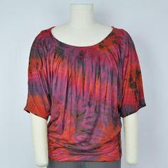 Mudmee Dye Butterfly Top