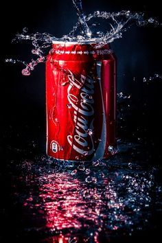 Photograph Coca-Cola by Ilari Lehtinen on - Coca Cola - Ideas of Coca Cola - Ideas of Coca Cola - Photograph Coca-Cola by Ilari Lehtinen on Coca Cola Decor, Coca Cola Can, Always Coca Cola, Coca Cola Bottles, Pepsi, Coke, Coca Cola Tumblr, Glass Photography, Creative Photography