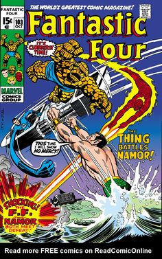 Fantastic Four (1961) Issue #103 - Read Fantastic Four (1961) Issue #103 comic online in high quality