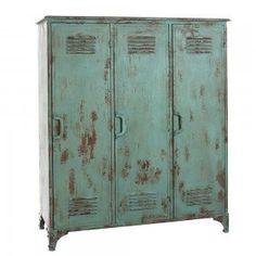 529.00 Green 3 Door Industrial Locker