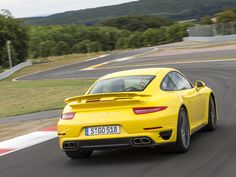 2014 Porsche 911 Turbo is a fierce display of power, but could also be a daily driver. #cars #Porsche