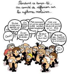 Le comité de réflexion sur les rythmes scolaires vu par http://vidberg.blog.lemonde.fr/