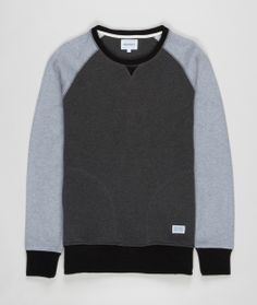 Double faced lightweight crew neck jersey knit in a soft cotton cashmere quality - Norse Projects     (€86 For non-EU shipping destinations) This product...