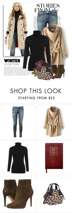 """Shop - Shein"" by yexyka ❤ liked on Polyvore featuring rag & bone, Sloane Stationery and Vince Camuto"