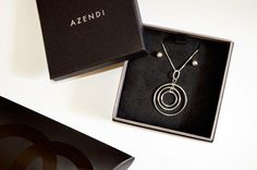 1849c3c18 Necklace and Earrings – Azendi* Although I've toyed with gold in the past,  silver has always been my number one choice for jewellery (when platinum  isn't ...