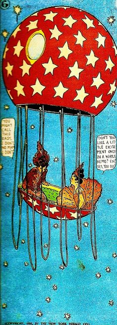 Little Nemo in Slumberland - Winsor McCay.... I still want this tattooed somewhere, I was so sooo obsessed with little nemo in slumberland as a child