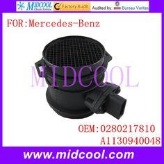 New Mass Air Flow Sensor OE# 0280217810 A1130940048 1130940048 0280217811 9004601 10928338 401627 A2C59513979 for Mercedes-Benz Mercedes Benz, Brake System, Flow