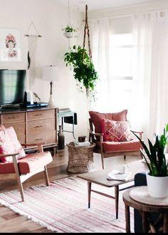 Salon classique & la th& de la nature Simple Living Room, Cozy Living Rooms, Home Living Room, Apartment Living, Interior Design Living Room, Living Room Designs, Living Room Decor, Modern Living, Small Living
