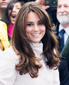 Haircuts that NEVER go out of style: Kate Middleton - Face Framing Layers #InStyle