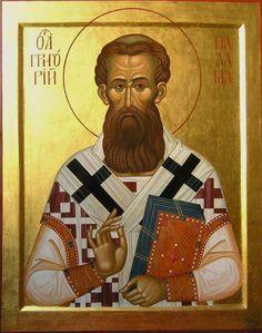 Gregorius Palamas Sv. Grigorija Palamu...ipak vise volim kad se ikonopise sa tonzurom....