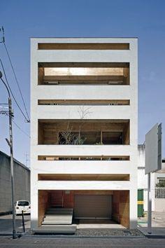 UID #Architects: #modern #home located in #Fukuyama, #Hiroshima, #Japan designed by Keisuke Maeda in 2011.