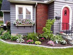 Flower Garden Ideas In Front Of House
