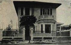 Iba Mendes: Fotos antigas do Rio de Janeiro - XXXVIII - RIO DE JANEIRO – Mansão situada à Rua Sacadura Cabral nº 327, em 1923 - Brasil