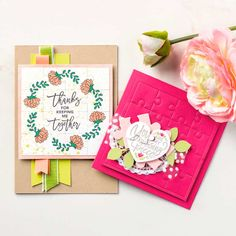 Big Shot Embossing Mats Video by Stampin' Up! (Mary Fish, Stampin' Pretty The Art of Simple & Pretty Cards) Puzzle Frame, Mary Fish, Love You To Pieces, Stampin Pretty, Embossed Paper, Stampin Up Catalog, Diy Scrapbook, Scrapbooking, Photo Craft