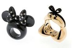 Anéis da Disney - Alice e Miney Mouse