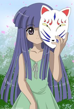 Rika (Higurashi - When They Cry)    (Higurashi no Naku Koro ni) Aww she's so cute!! But violent!! >:)