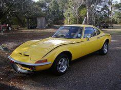 1971 Opel GT  nice paint detail