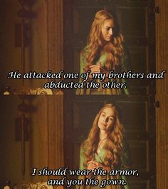 And in her own way, Cersei's a feminist. | 25 Reasons Why You Should Join Cersei Lannister's House