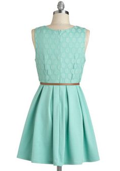 Refine Mint Dress, #ModCloth (bridesmaid)