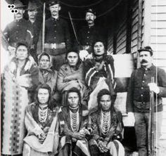 Trail of Tears Era. Cherokee Family is being removed from their home by American Soldiers.