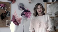 Fascinator Hat - NEW online video course by Elena Shvab Millinery Online Video, News Online, Fascinator Hats, Couture, Fashion, Moda, Fashion Styles, Haute Couture, Fashion Illustrations