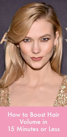 Got five minutes? You can add ample volume to your hair with these genius tricks.
