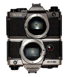 Olympus OM-3 and OM-4TI
