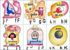 laminas del alfabeto para imprimir - Buscar con Google