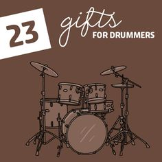 These are some incredible gifts for drummers! I didn't even know half of these gifts existed.