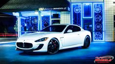 2012 Maserati GranTurismo on Forgiato Wheels by California Wheels in Campbell  CA . Click to view more photos and mod info.