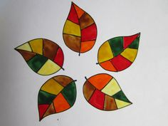 Check out this item in my Etsy shop https://www.etsy.com/listing/245659074/hand-painted-faux-stained-glass-autumn