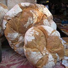 Pan de payés en el Mercado Medieval de Montblanch (Tarragona)