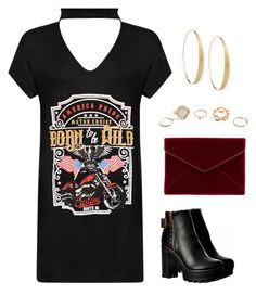 """Sem título #446"" by itsmevitoria on Polyvore featuring moda, WearAll, GUESS, Rebecca Minkoff, Lana, outfit e black"